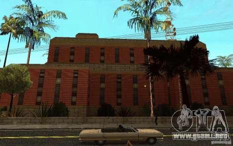 Nuevas texturas para el hospital en Los Santos para GTA San Andreas séptima pantalla