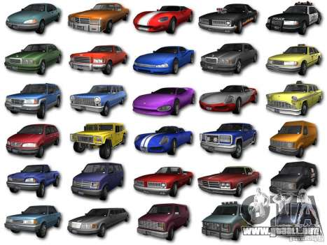 GTA3 HD Vehicles Tri-Pack III v.1.1 para GTA San Andreas left