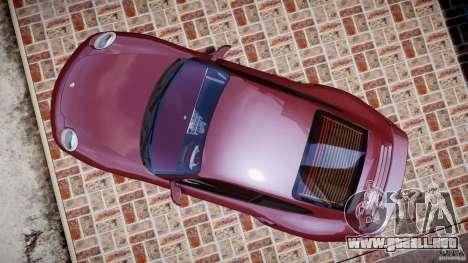 Porsche 911 (997) Turbo v1.1 [EPM] para GTA 4 visión correcta