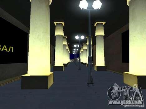 Greatland-Grèjtlènd v0.1 para GTA San Andreas sucesivamente de pantalla