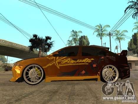 Skoda Octavia II Tuning para GTA San Andreas left
