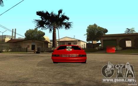 Chevrolet Impala 1995 para la visión correcta GTA San Andreas