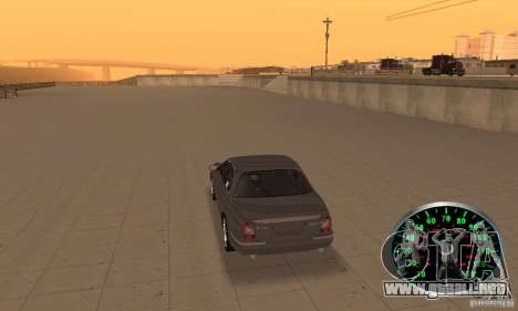 Velocímetro v.2.0 para GTA San Andreas segunda pantalla