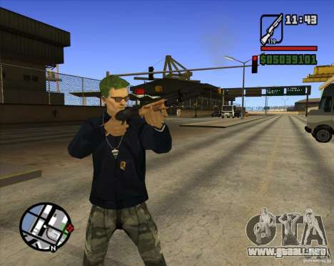 Claude Speed beta4 para GTA San Andreas tercera pantalla
