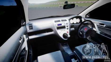 Honda Civic Type-R para GTA 4 visión correcta