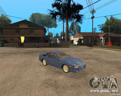 Toyota Supra MK3 para la visión correcta GTA San Andreas