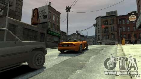 The real Poster Mod para GTA 4 segundos de pantalla