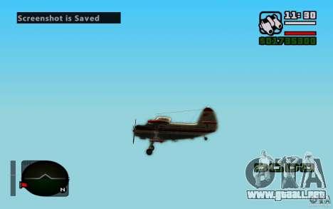 Antonov an-2 para visión interna GTA San Andreas