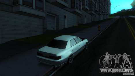 Toyota Mark II 100 para GTA San Andreas left
