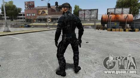 Sam Fisher v9 para GTA 4 tercera pantalla