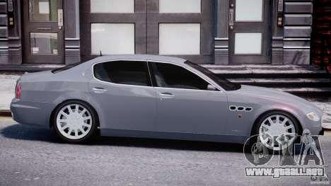 Maserati Quattroporte V para GTA 4 interior