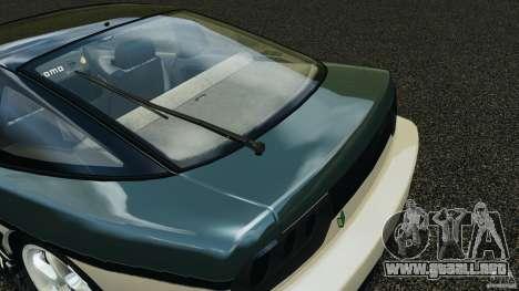 Nissan 240SX Time Attack para GTA 4 vista desde abajo