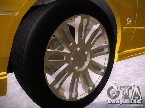 Ford Falcon para vista inferior GTA San Andreas