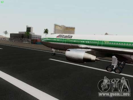 McDonell Douglas DC-10-30 Alitalia para GTA San Andreas left
