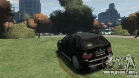 BMW X5 para GTA 4 left