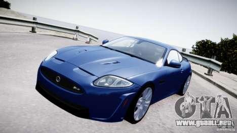 Jaguar XKR-S 2012 para GTA 4 visión correcta