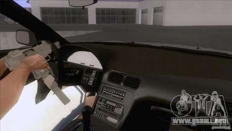 Nissan Sil80 para visión interna GTA San Andreas