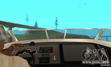 GTAIV Tropic para GTA San Andreas vista hacia atrás