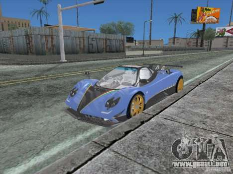 Los Angeles ENB modification Version 1.0 para GTA San Andreas sexta pantalla