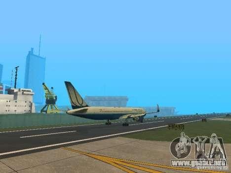 Boeing 767-300 United Airlines New Livery para la visión correcta GTA San Andreas