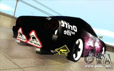 Forsage para GTA San Andreas vista hacia atrás