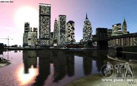 Pantallas de menú y arranque de Liberty City en  para GTA San Andreas undécima de pantalla