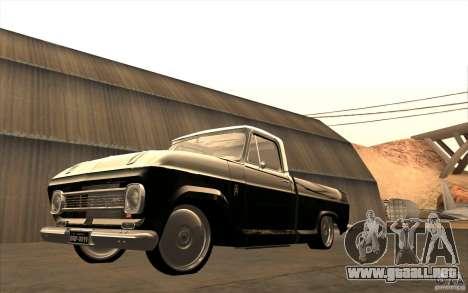 Chevrolet C-10 Fixxa para visión interna GTA San Andreas