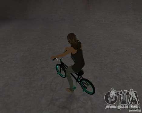 Tony Hawks Emily para GTA San Andreas segunda pantalla
