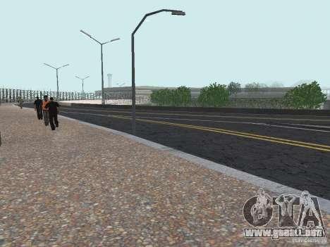 New Airport San Fierro para GTA San Andreas tercera pantalla