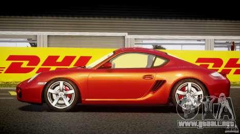 Porsche Cayman S v2 para GTA 4 left