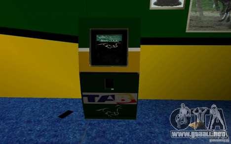 Nueva oficina de Bukmejkerskaâ para GTA San Andreas segunda pantalla