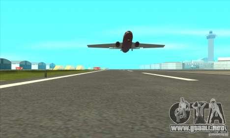 La revitalización de los aeropuertos para GTA San Andreas