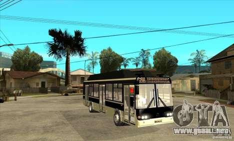 LIAZ 5256 para GTA San Andreas vista hacia atrás