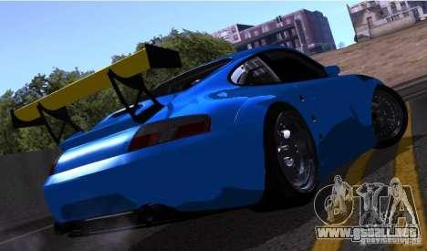 Porsche 911 GT3  RWB para visión interna GTA San Andreas