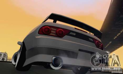 Nissan 180SX para la visión correcta GTA San Andreas