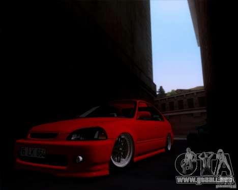 Honda Civic 16 LK 664 para GTA San Andreas