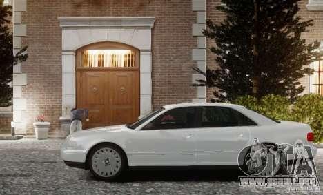 Audi A8 2000 para GTA 4 left