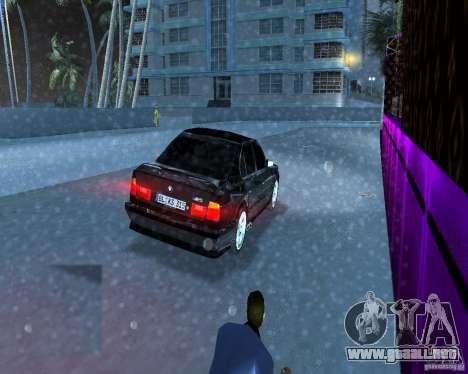 BMW M5 E34 1990 para GTA Vice City vista lateral izquierdo