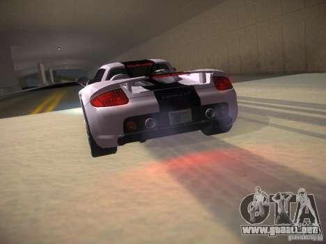 Porsche Carrera GT para vista inferior GTA San Andreas