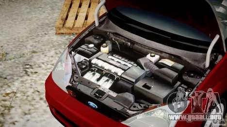 Ford Focus SVT para GTA 4 vista superior