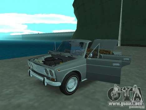 VAZ 2103 Cabrio para GTA San Andreas vista hacia atrás