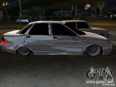 Lada Priora Dag Style para vista inferior GTA San Andreas