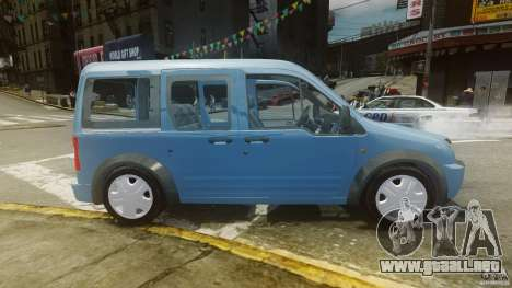 Ford Connect 2007 para GTA 4 left