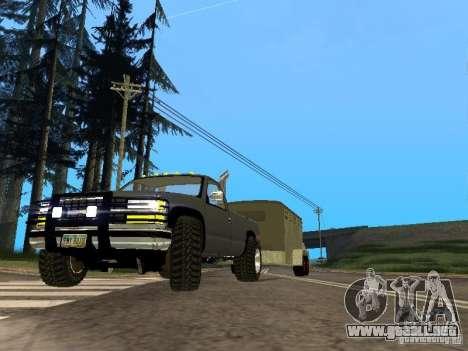 Trailer de la Chevrolet Silverado 2012 para GTA San Andreas left