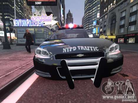 Chevrolet Impala 2006 NYPD Traffic para GTA 4 left