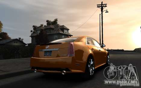 Cadillac CTS-V 2009 para GTA 4 left