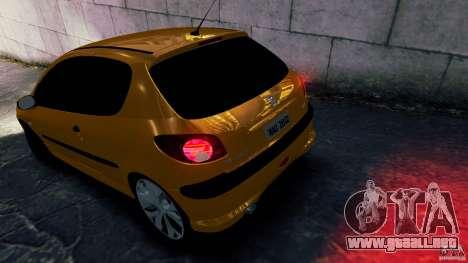 Peugeot 206 para GTA 4 left