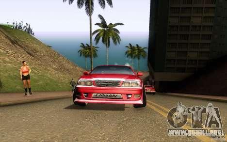 Toyota Chaser JZX100 para visión interna GTA San Andreas