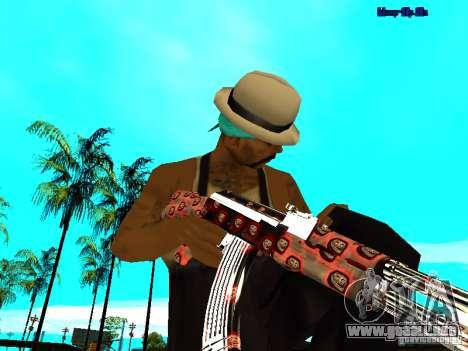 Trollface weapons pack para GTA San Andreas sucesivamente de pantalla