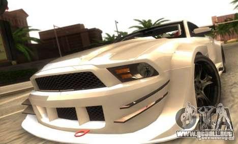 Ford Mustang Shelby GT500 V1.0 para GTA San Andreas left